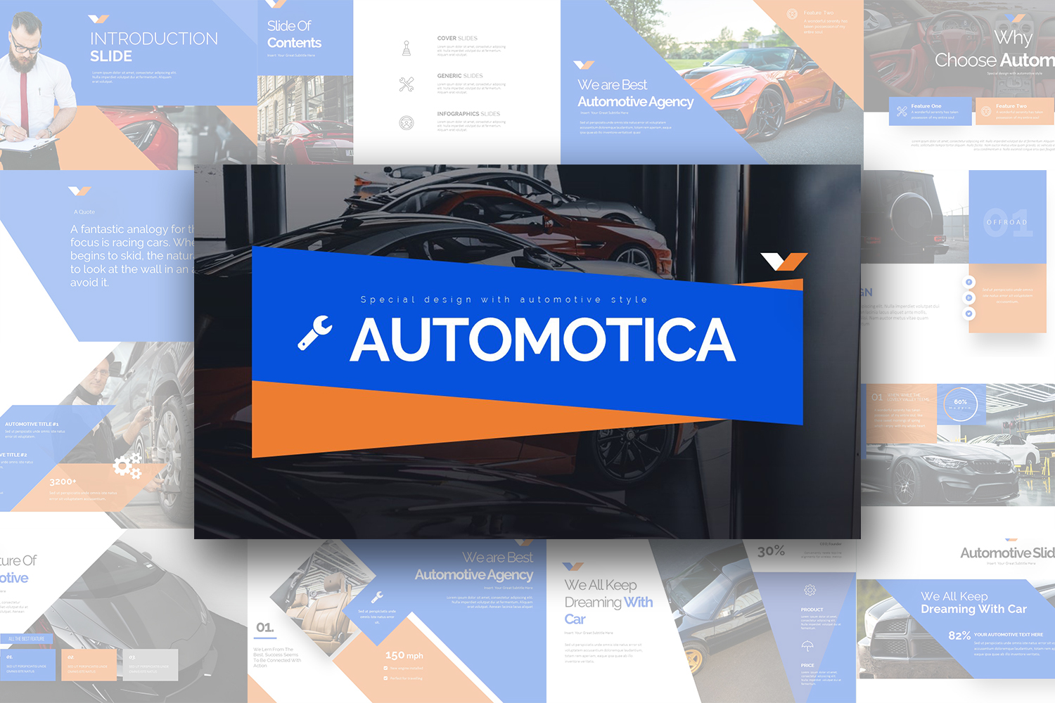 Automotica PowerPoint Template