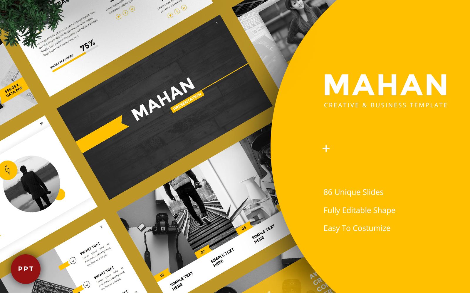 Mahan - Creative & Business PowerPoint Template
