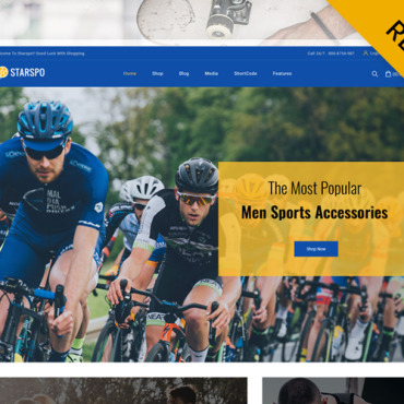 Template Sport WooCommerce #119816