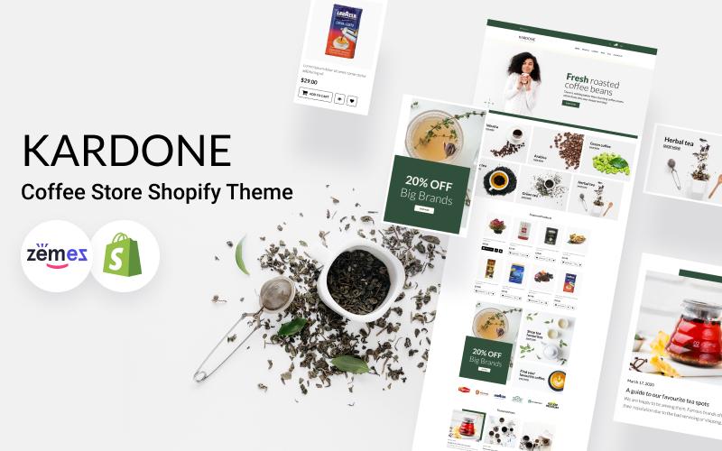 KarDone - Coffee Store Shopify Theme