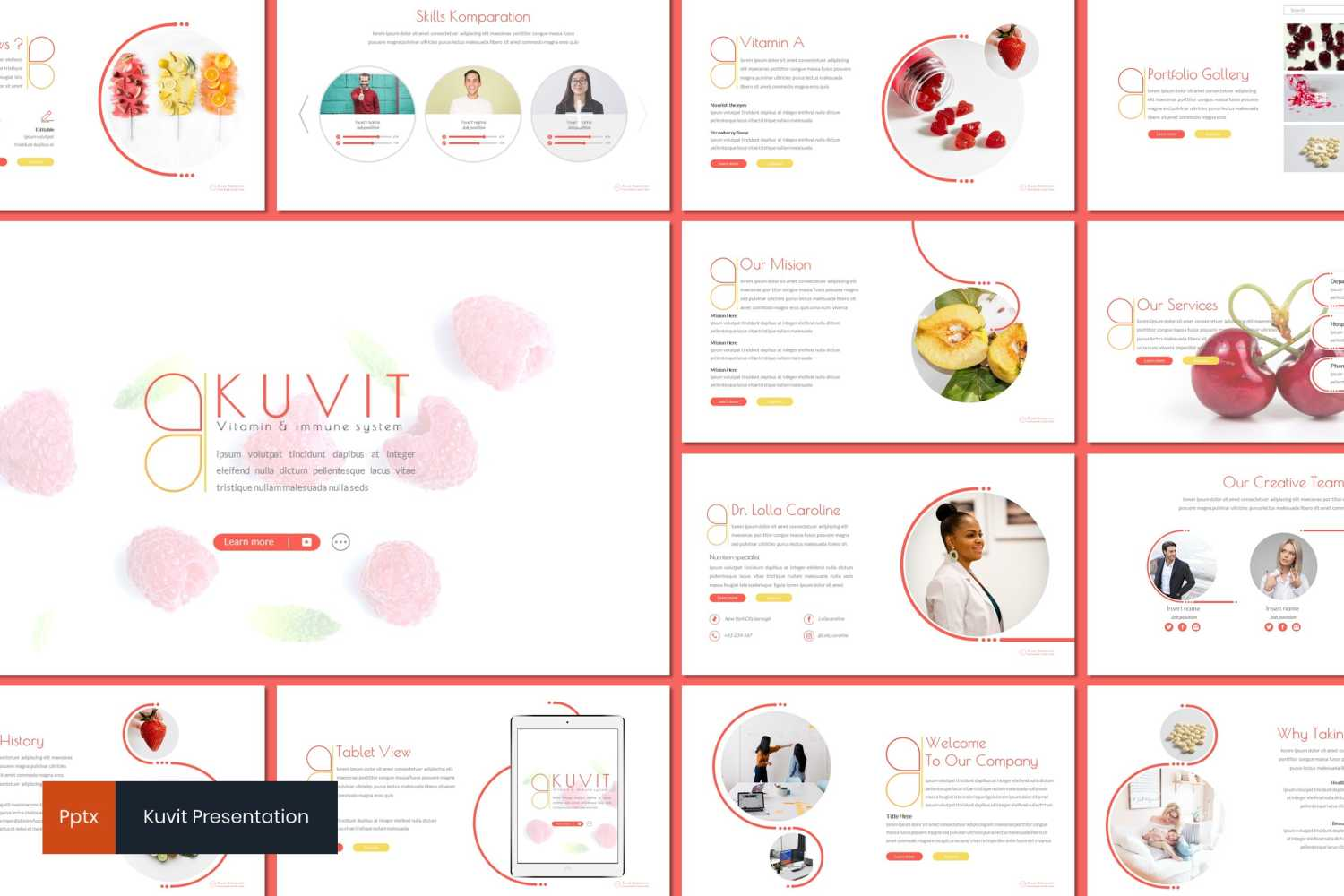 Kuvit PowerPoint Template