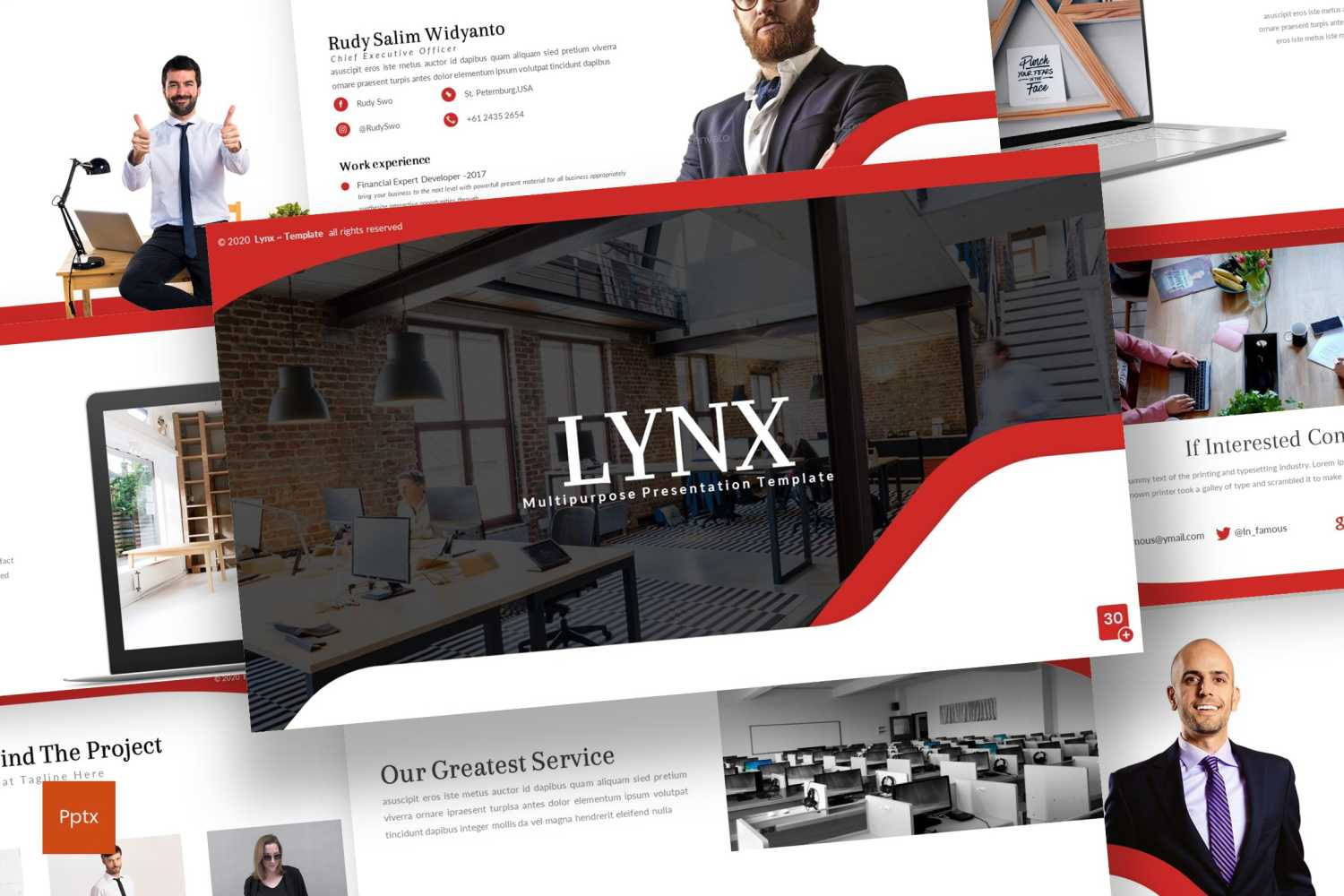 Lynx PowerPoint Template