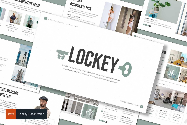 Lockey PowerPoint Template