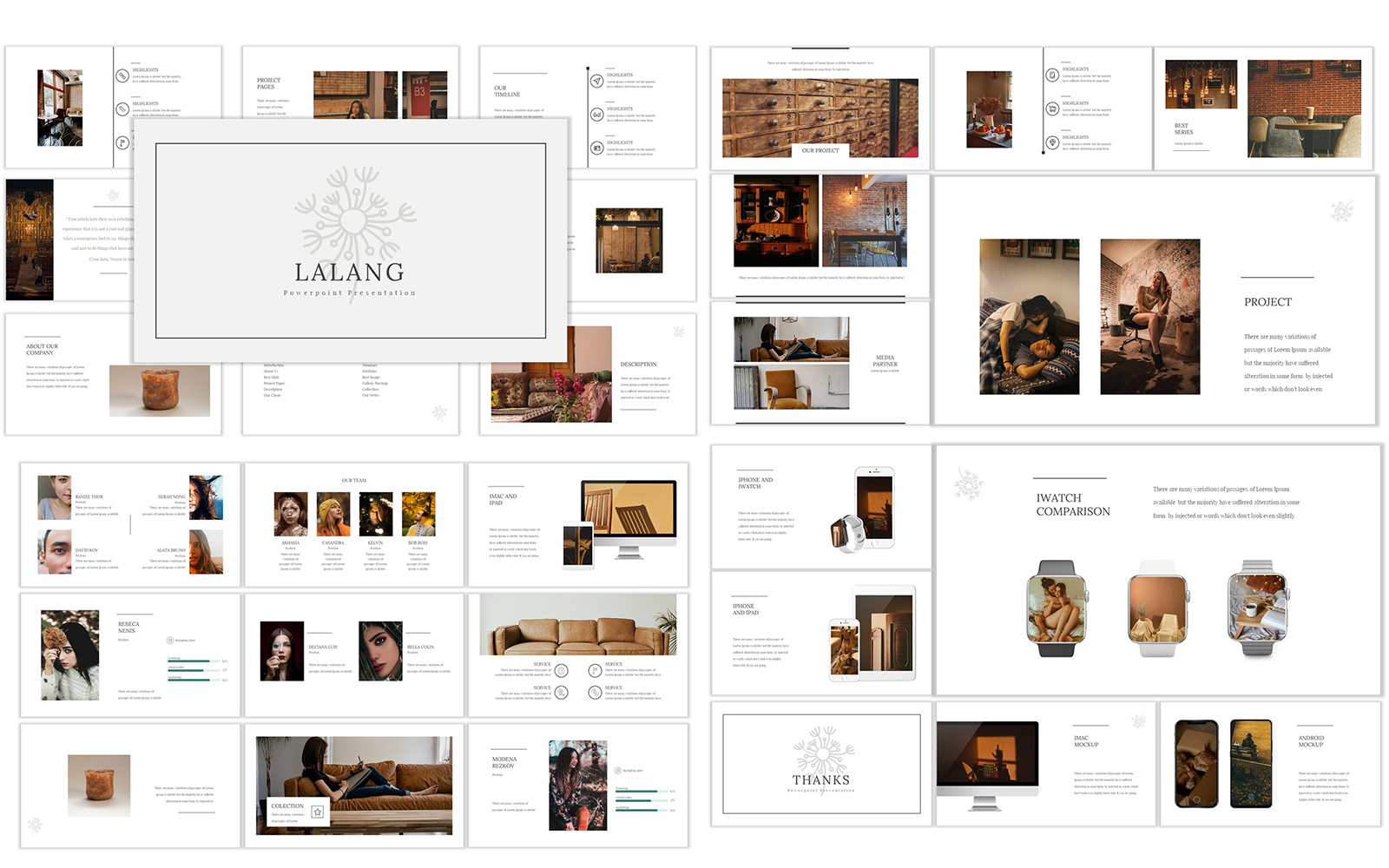 Lalang PowerPoint Template