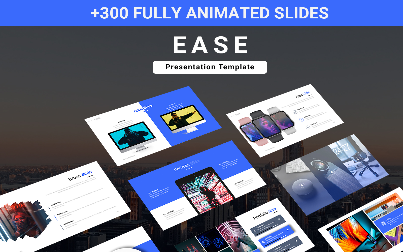 EASE PowerPoint Template