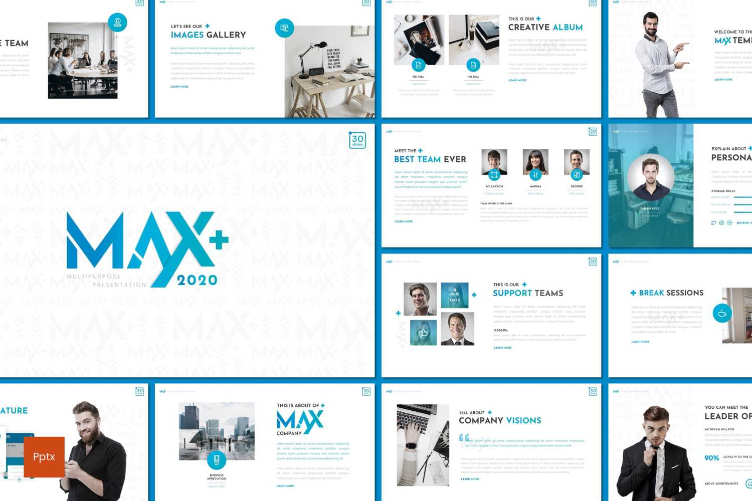 Max PowerPoint Template