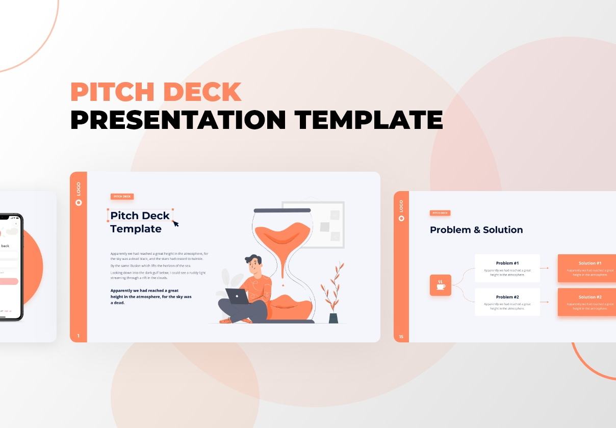 Pitch Deck - Presentation PowerPoint Template