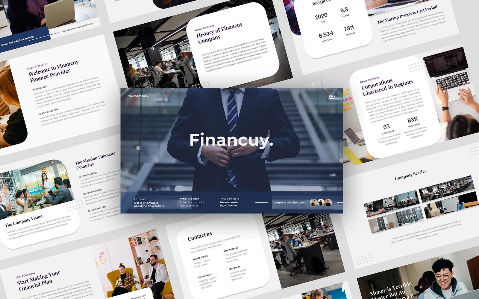 Financuy PowerPoint Template