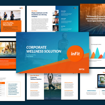 Template Sport PowerPoint #120913