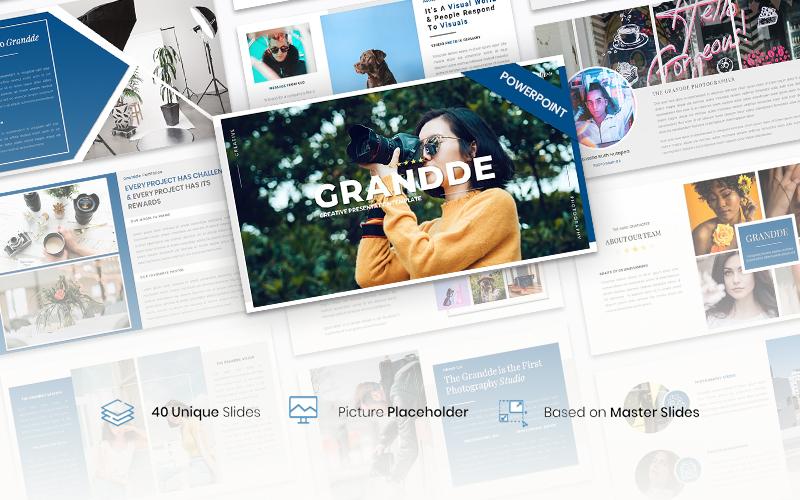 Grandde – Creative Business PowerPoint Template