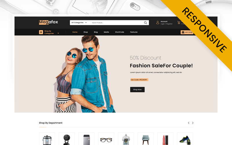 Megafox - Multipurpose Sore WooCommerce Theme