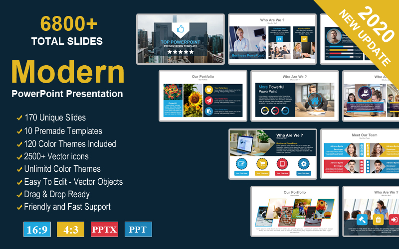 Responsive Solutions PowerPoint Template