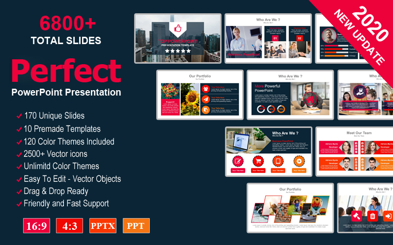 Perfect Business Presentation PowerPoint Template