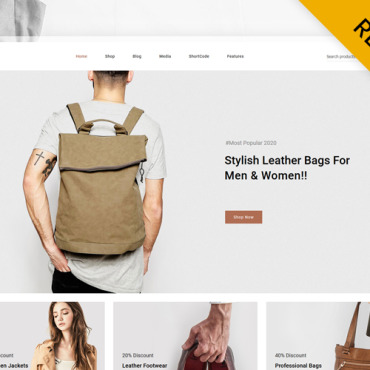 Template Modă WooCommerce #122281