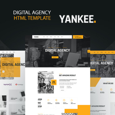 Website Template № 122460