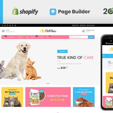 Template Animale de companie Shopify #122662