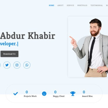 Website Template № 122887