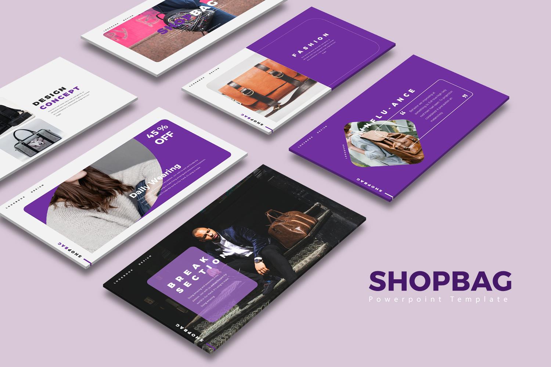 ShopBag Presentation PowerPoint Template