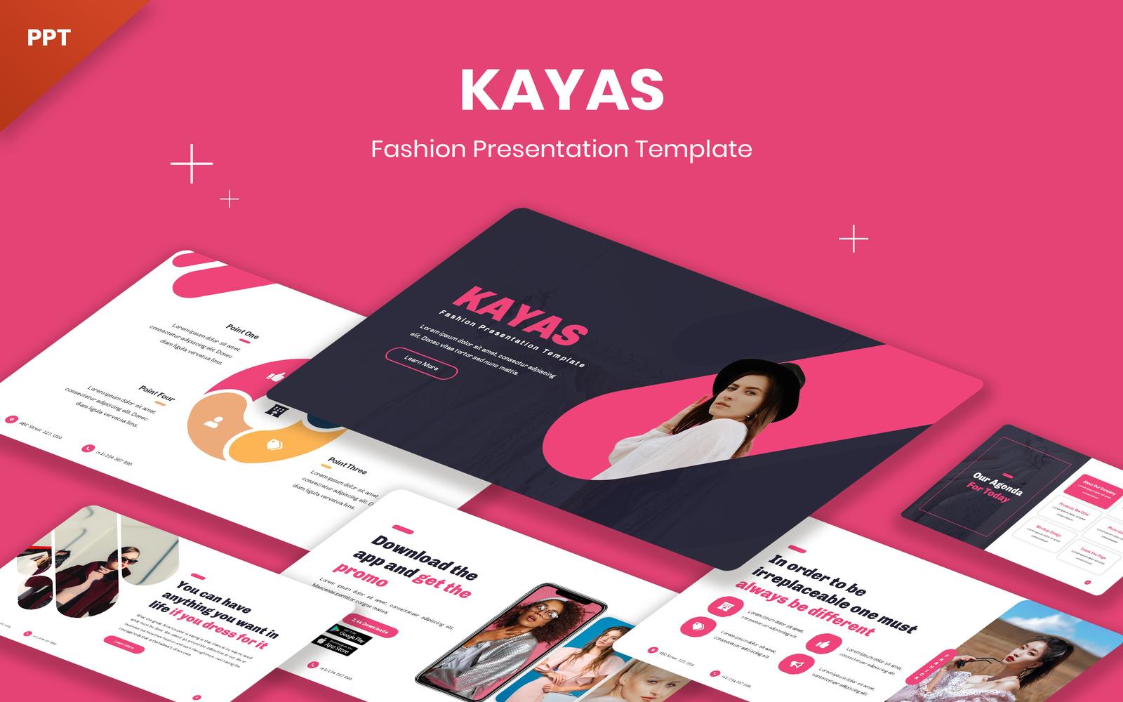 Kayas - Fashion PowerPoint Template