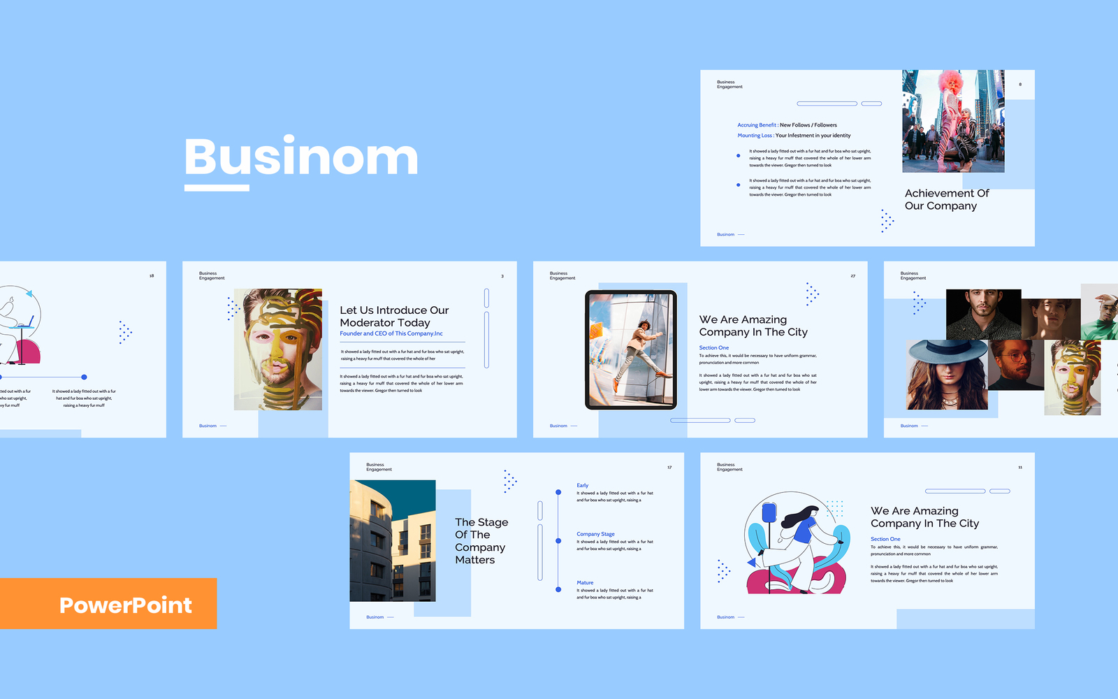 Businom - Business PowerPoint Template
