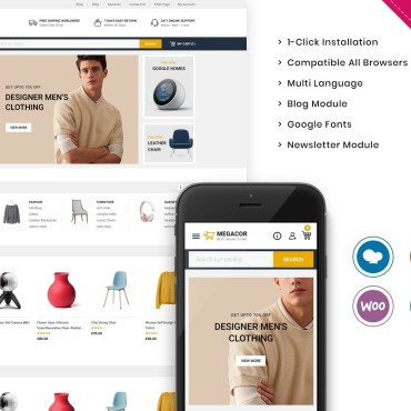 Template WooCommerce #123381