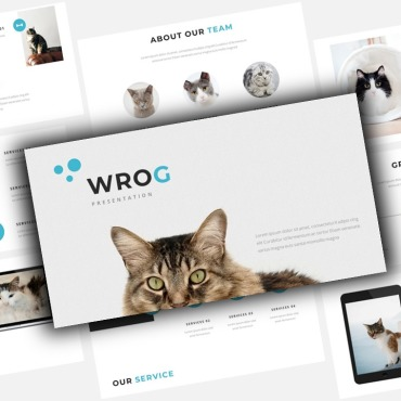 Template Animale de companie Keynote Templates #123460