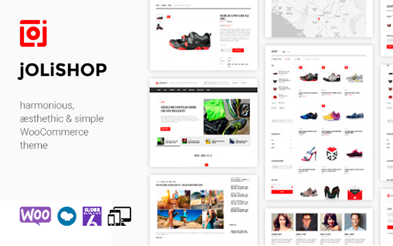 Jolishop - Simple WooCommerce Theme