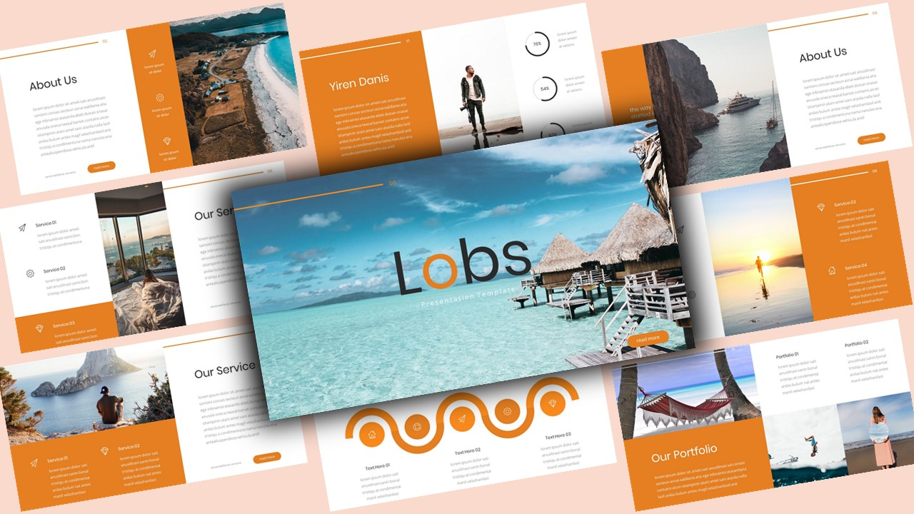 Lobs Creative PowerPoint Template