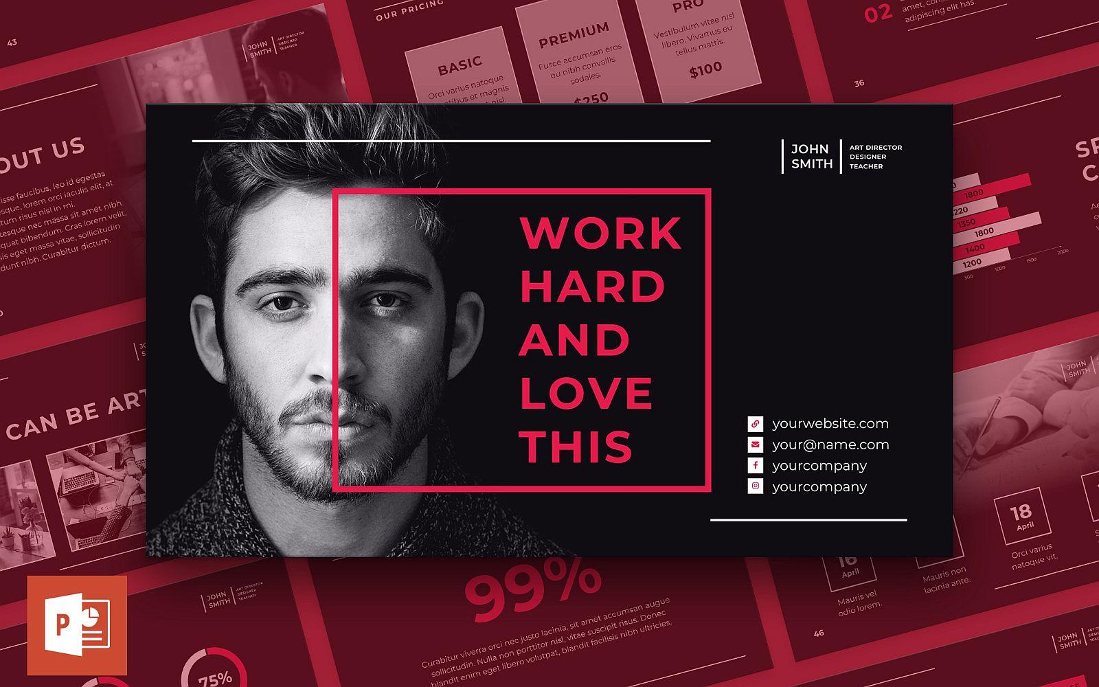 Art Director Presentation PowerPoint Template