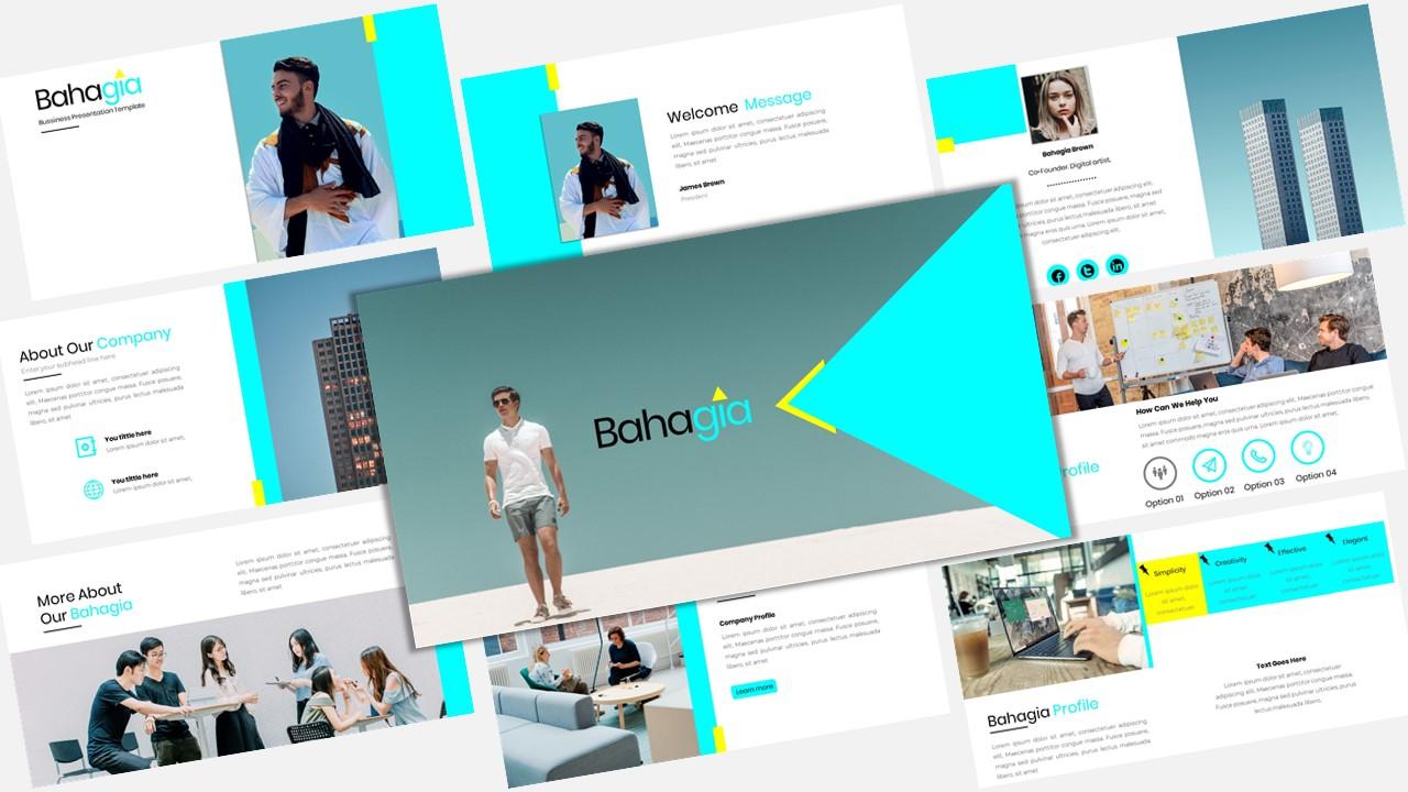 Bahagia - Creative Business PowerPoint Template