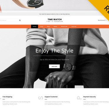 Template WooCommerce #123954