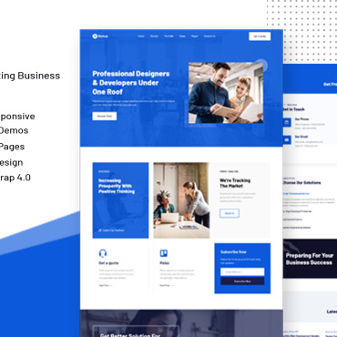 Website Template № 123958