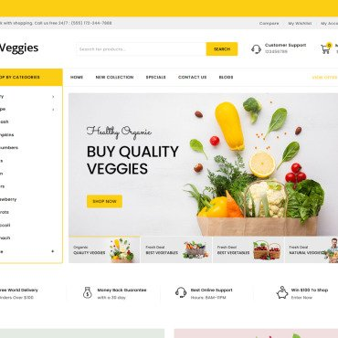 Template OpenCart #124513