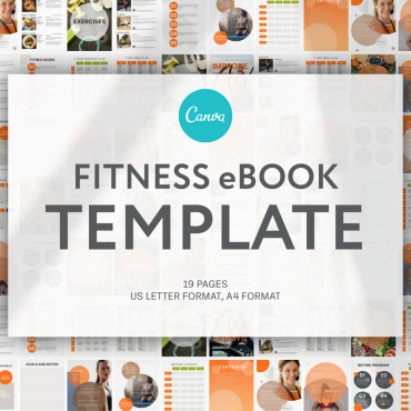 Template Sport Magazine Templates #124531