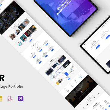 Template Electronice Landing Page #124752