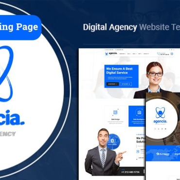 Template Web Design Landing Page #124754