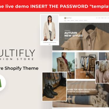 Template Modă Shopify #124755
