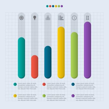 Template Artă și fotografie Infographic Elements #125069