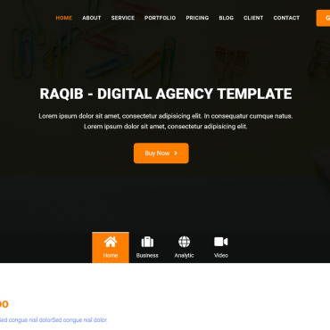 Website Template № 125228