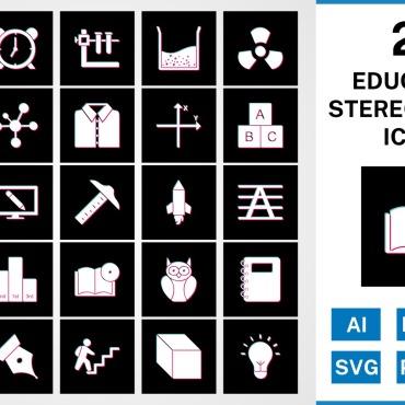 Template Artă și fotografie Seturi de iconițe #125421
