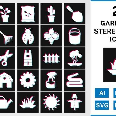 Template Artă și fotografie Seturi de iconițe #125423