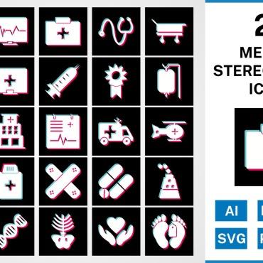 Template Artă și fotografie Seturi de iconițe #125449