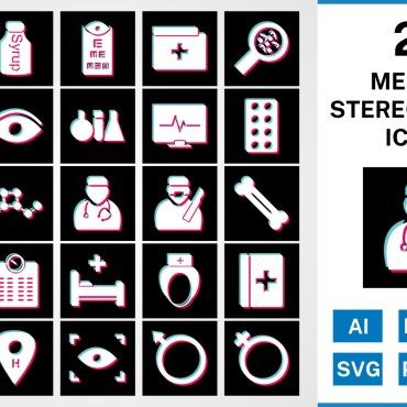 Template Artă și fotografie Seturi de iconițe #125450