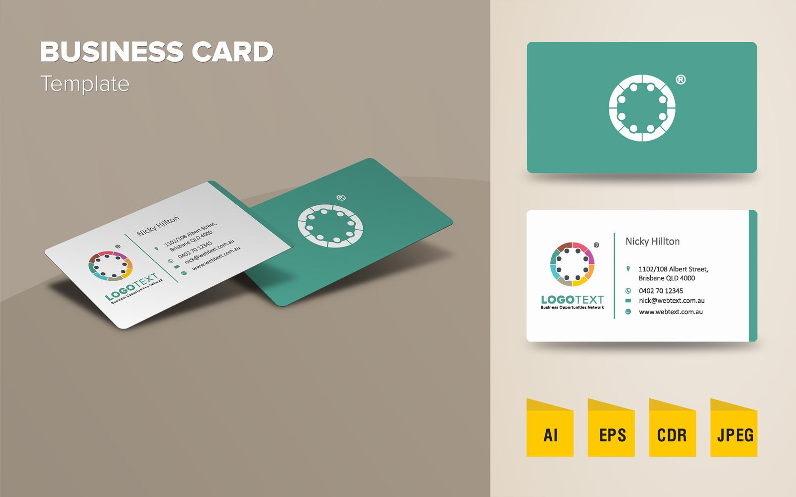 企業形象 CIS 設計樣版
