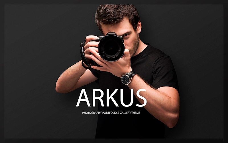 Arkus - Photography Portfolio & Gallery WordPress Theme