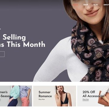 Template WooCommerce #125684