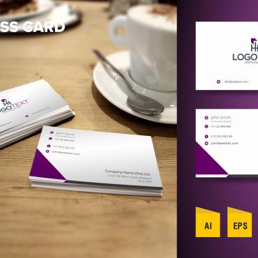Template Identité d'entreprise #125756