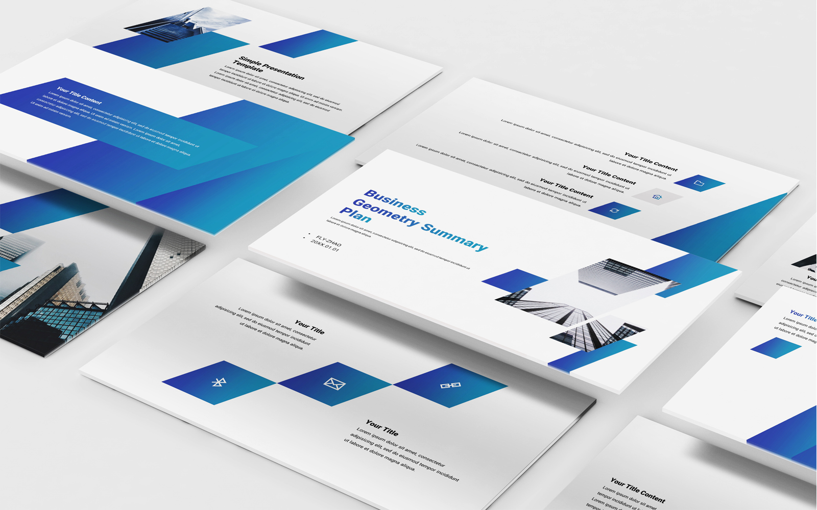 Business Company PowerPoint Template