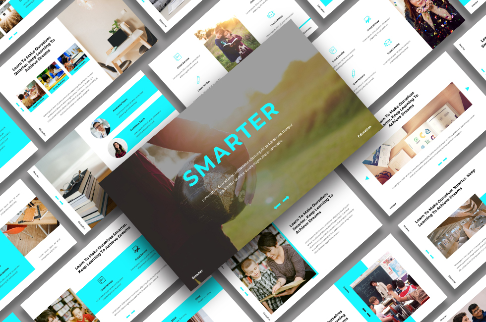 Smarter - Education PowerPoint Template
