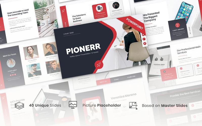 Pionerr - Multipurpose PowerPoint Template